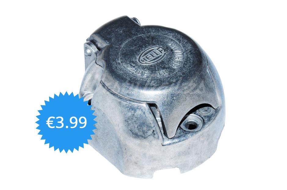 Hella 7-polige Steckdose Metall